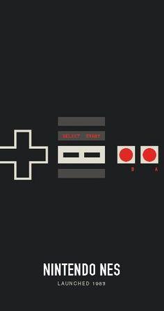 Nintendo Entertainament System by mr. Super Nintendo, Nintendo Sega, Nintendo Games, Retro Video Games, Video Game Art, Retro Games, Super Smash Bros, Super Mario Bros, Xbox One
