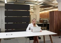 Task | Products | Collaborative | Workplace | Connecting Spaces | Acoustic Panels | Durdle Office Environment, Acoustic Panels, Office Interiors, Divider, Office Spaces, Wool Felt, Workplace, Flexibility, Public