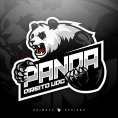 Sport Logo Inspiration Creative 26 Ideas Una parte standard environnant les are generally Logo Inspiration, Leon Logo, Image Panda, Logo D'art, Logo Animal, Gaming Logo, Game Logo Design, Sports Team Logos, Cartoon Logo