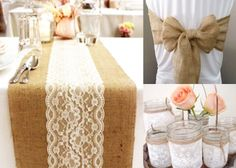 Amazing Hessian Wedding Decor Hire Package For R1000 Less