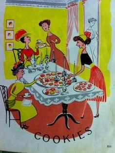 1952 Cookbook illustration (165 pieces)