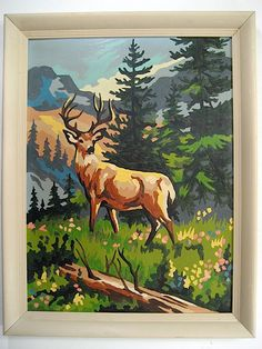 Stag - Paint By Number Museum