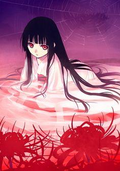Enma Ai from Hell Girl All Anime, Me Me Me Anime, Manga Anime, Anime Art, Anime Girls, Itachi, Mai Hime, Enma Ai, Hell Girl