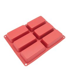 Look at this 6-Cavity Mini Loaf Silicone Mold on #zulily today!