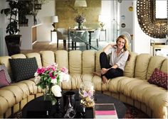 Celebrity Home Tour Inside Look At The Interior Design Of TV Host