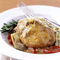 Low Carb Recipes, Easy To Make Low Carb Rosemary Chicken Recipe. Healthy And Low Carb Rosemary Chicken Recipe. Rosemary Chicken, Basil Chicken, Garlic Chicken, Slow Cooker Recipes, Cooking Recipes, Healthy Recipes, Slow Cooking, Crockpot Recipes, Diabetic Recipes
