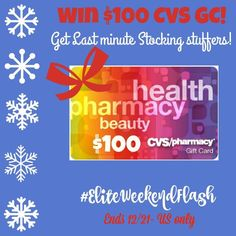 $100 CVS Gift Card Giveaway CVS always has great deals so why not grab something you need (or want!) with this $100 CVS gift card that we're giving one lucky reader. Why? Because we love you guys! All you have to do is enter on the rafflecopter below. Good luck! *Open to the US …