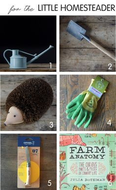 Gifts For The Little Homesteader. Garden Gifts