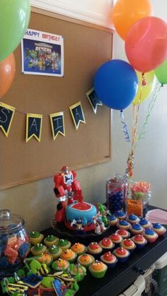 Transformers Rescue Bots Party