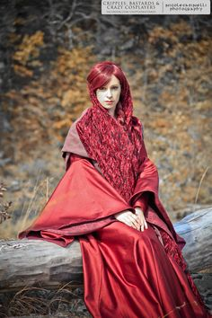 Melisandre (Game of Thrones) Cosplay