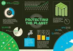 Protecting the planet infographic