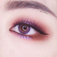 Day Eye Makeup, Korean Eye Makeup, Makeup Eye Looks, Asian Makeup, Kiss Makeup, Cute Makeup, Eyeshadow Makeup, Makeup Art, Beauty Makeup