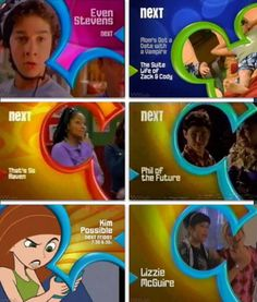I wish it could go back to this! That's so raven had always been my fave tv show! But I actually enjoyed the other shows as well!!! I honestly don't think twice about scrolling pass disneys new channel! Bring back the early 2000s shows!