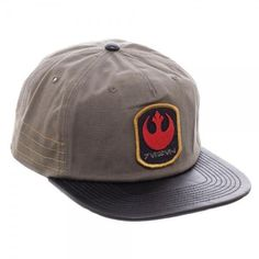 5a5a2ca2183 Star Wars — Rogue One Distressed Rebel Slouch Snapback