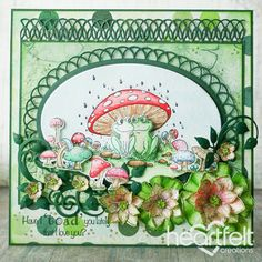 Heartfelt Creations - Toadally Love You Project