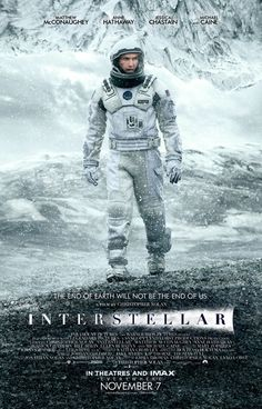 New Interstellar Poster With Matthew McConaughey Released | Comicbook.com