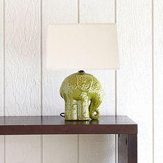 Elephant Ceramic Table Lamp | World Market