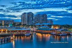 boynton beach!<3 I live on the other side of those condos, but my tax's helped pay for that marina.