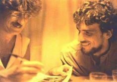 Charly Garcia y el flaco Spinetta