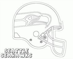 seattle seahawks seahawks coloring page sports Pinterest