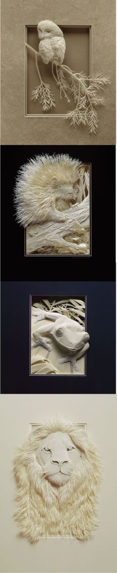 Calvin Nicholl's Bas Relief from paper. A wonderful type of sculpture executed flawlessly! https://abominableink.wordpress.com/tag/bas-relief-sculptures/