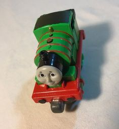 Thomas & Friends No.6 Percy Magnetic Metal Toy Train Loose 2012 Diecast #Mattel