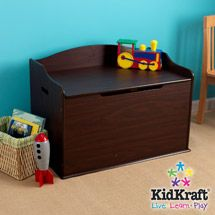 Toy boxes at Kohl's - This KidKraft Austin toy box features a safety hinge, bench, storage space and wooden construction. Shop our full line of toy boxes at Kohl's.