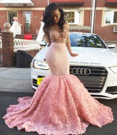 A Closer Look  Of this Beautiful Prom Dress  Follow Me @hair,nails,&& Style