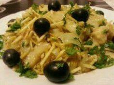 como fazer bacalhau ensopado com batatas de maneira rápida#homem na cozinha - YouTube