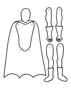 The Brooding Hen: Superhero Paperdolls