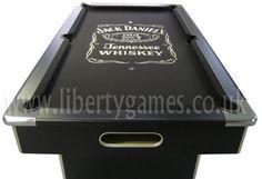Jack Daniels Pool Table – Meet The New Drinks Tables! Jack Daniels Cocktails, Jack Daniels Whiskey, Basement Bar Designs, Basement Ideas, Jack Daniels Soap Dispenser, Jack Daniels Decor, Club Sportif, Billiards Bar, Coke Drink