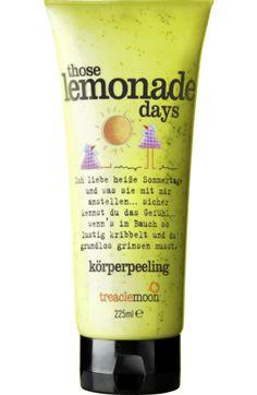 Körperpeeling those lemonade days