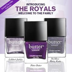 Butter/London The Royals Collection-Limited Edtion