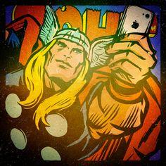 Thor Selfie