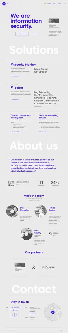 ISECO - microsite | #ui #ux #userexperience #website #webdesign #design #minimal #minimalism #art