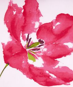 watercolor + flower