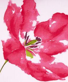 watercolor + flower