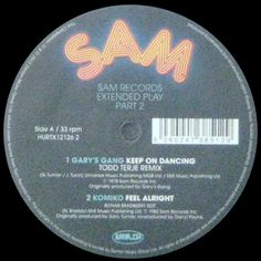 Various - Sam Records Extended Play Part 2