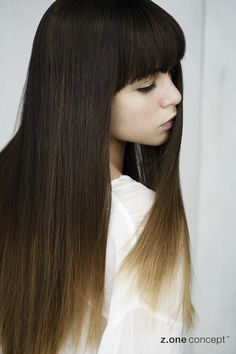 No Inhibition White Collection SS 2013 - Two Tone Trend Hair Affair, Ss, Hair Beauty, Concept, Long Hair Styles, Collections, Fashion, Moda, Fashion Styles