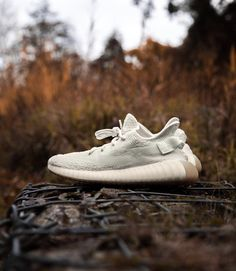 """Upcoming release, August 2018: adidas YEEZY V2 """"Sesame."""" Adidas Yeezy V2, Adidas Sneakers, Yeezy 350, Sneakers Fashion, Fitness Fashion, Adidas Shoes"""