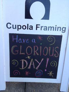 #sharingTheLove today @cupolagallery & @cupolaframing :)