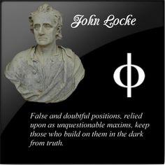 DEISM: John Locke - False and Doubtful Positions