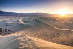 Photograph Sand Storm - Mesquite Flat Dunes - Death Valley - CA by Dominique  Palombieri on 500px