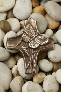 Bronze Gifts, 8th Anniversary, Religious Jewelry, Crosses, Faith, Amulets, Religion, Encouragement, Gift Ideas