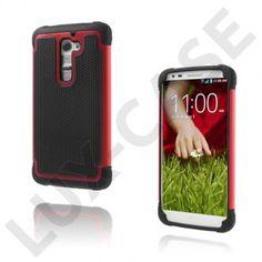 Impact (Rød) LG G2 Ultra-Sikkert Deksel