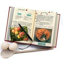 Libro de recetas: todos los secretos culinarios de la familia