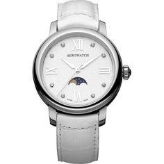 Reloj Mujer Blanco Cristal Zafiro Aerowatch Miss Luna  http://www.tutunca.es/reloj-mujer-blanco-cristal-zafiro-aerowatch-miss-luna