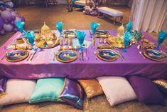 Aladdin Birthday Party, Aladdin Party, Adult Birthday Party, Princess Birthday, Jasmin Party, Princess Jasmine Party, Birthday Desserts, Birthday Party Decorations, Jasmine Cake
