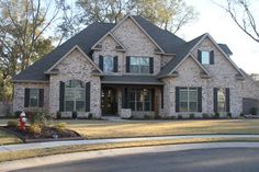Our Classic Collection is a great way to enhance any building project. Traditional Home Exteriors, Traditional House, Dream House Exterior, Exterior House Colors, Style At Home, Georgia Homes, Houses In Georgia, Zillow Homes, Suburban House