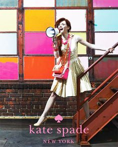 Kate Spade Spring 2011 Ad Campaign  I absolutely love the new Kate Spade Spring ad which features Bryce Dallas Howard